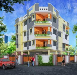 Gallery Cover Image of 380 Sq.ft 1 BHK Apartment for buy in Nayabad for 1516000