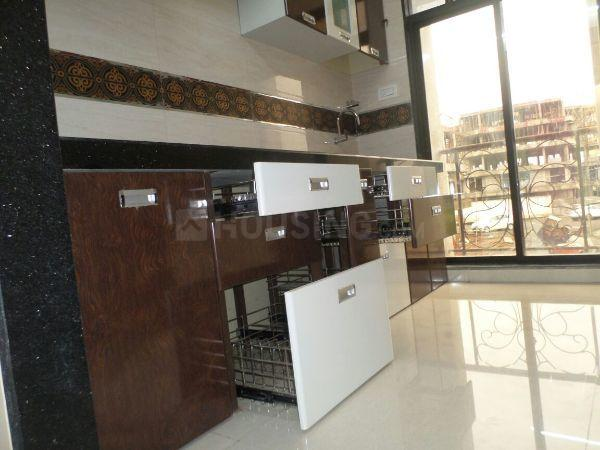 Kitchen Image of 960 Sq.ft 2 BHK Apartment for rent in Kalamboli for 12000