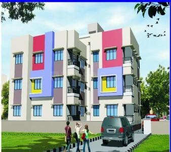 Gallery Cover Image of 569 Sq.ft 2 BHK Apartment for buy in Boral for 1422500