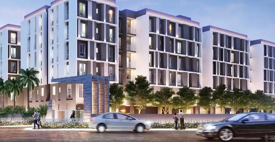 Brochure Image of 1100 Sq.ft 3 BHK Apartment for buy in Kaikhali for 4950000