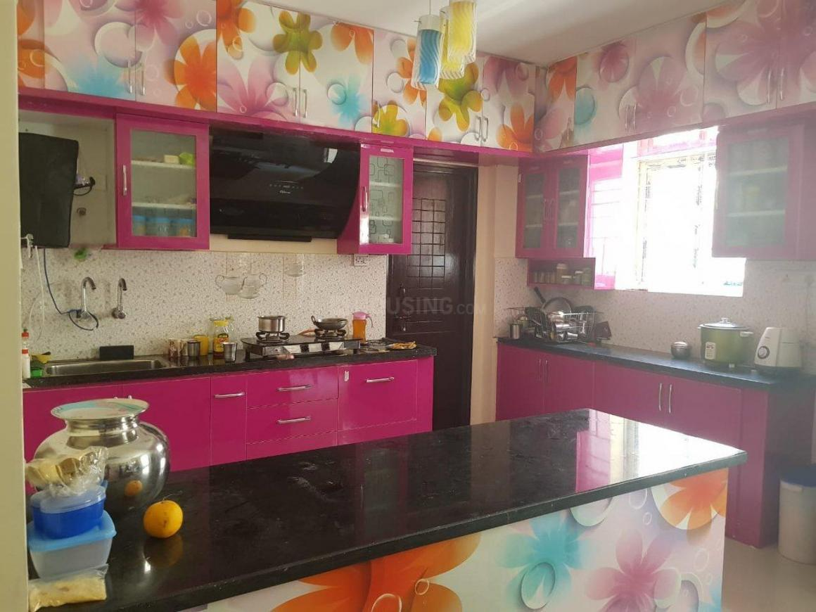 Kitchen Image of 1700 Sq.ft 3 BHK Apartment for rent in Kukatpally for 38000