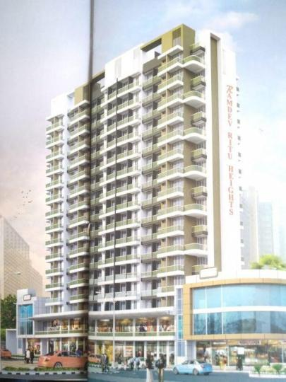Building Image of 930 Sq.ft 2 BHK Apartment for buy in Shree Ramdev Ritu Heights, Mira Road East for 7300500
