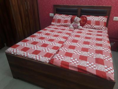 Bedroom Image of PG For Working Boys In Sushant Lok Phase 1 in Sector 44