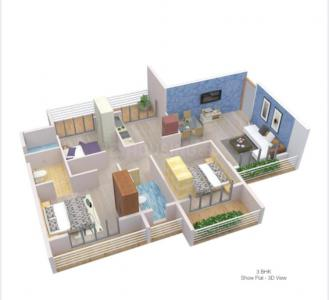 Gallery Cover Image of 2113 Sq.ft 3 BHK Apartment for buy in Om Shivam Arjun, Kamothe for 15847500