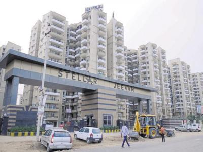 Gallery Cover Image of 625 Sq.ft 1 BHK Apartment for rent in Noida Extension for 7500