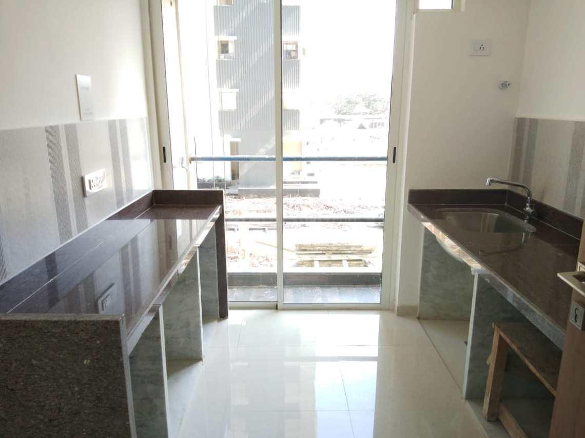 Kitchen Image of 1306 Sq.ft 3 BHK Apartment for rent in Thane West for 38000