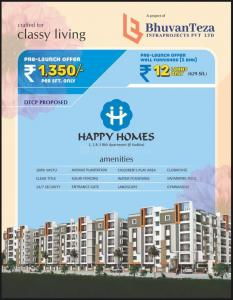 Gallery Cover Image of 1820 Sq.ft 3 BHK Apartment for buy in Kadthal for 2457000