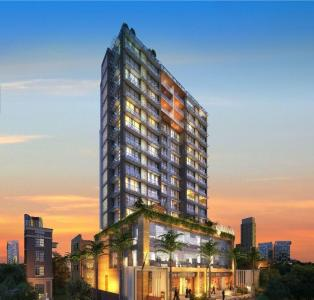 Gallery Cover Image of 707 Sq.ft 2 BHK Apartment for buy in Paradigm Nivan, Khar West for 39100000