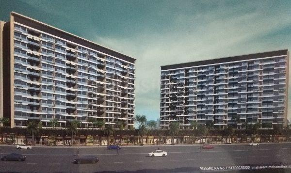 Building Image of 1750 Sq.ft 3 BHK Apartment for buy in Moreshwar 19 East, Nerul for 28000000