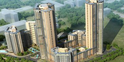Gallery Cover Image of 1450 Sq.ft 2 BHK Apartment for buy in CCI Rivali Park Wintergreen, Borivali East for 22000000