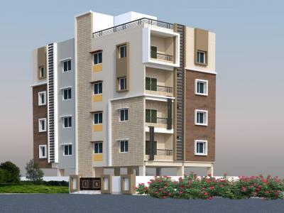 Gallery Cover Image of 1230 Sq.ft 2 BHK Apartment for buy in KSR Heights, Karwan for 6888000