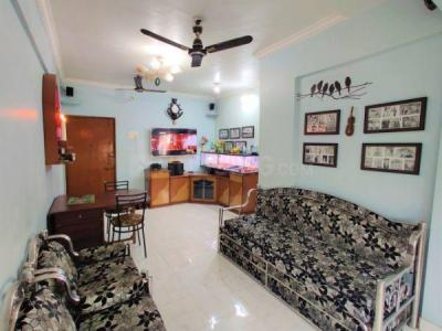 Gallery Cover Image of 1000 Sq.ft 2 BHK Apartment for rent in EV Crystal , Kopar Khairane for 27000