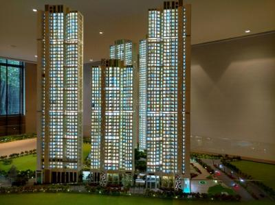 Gallery Cover Image of 1352 Sq.ft 3 BHK Apartment for buy in Kanjurmarg East for 20800000