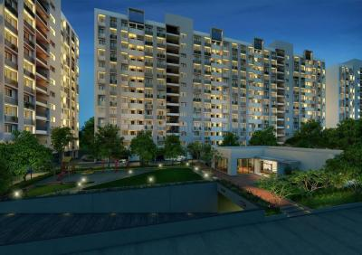 Gallery Cover Image of 925 Sq.ft 2 BHK Apartment for rent in Goyal Aakash Residency, Shela for 13000
