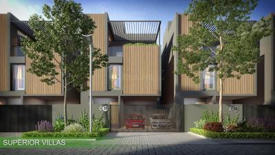 Gallery Cover Image of 2300 Sq.ft 3 BHK Villa for buy in TVS Emerald Hamlet, Karapakkam for 19000000