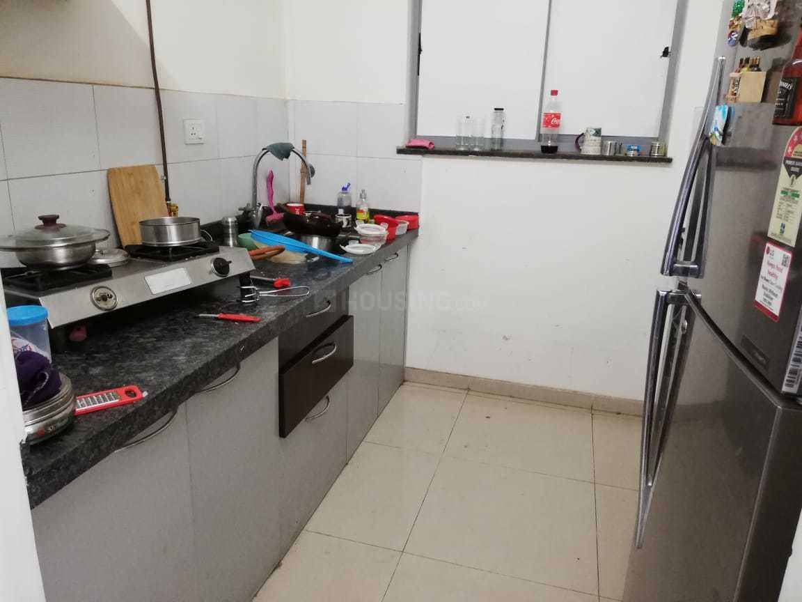 Kitchen Image of 640 Sq.ft 1 BHK Apartment for rent in Hadapsar for 20000