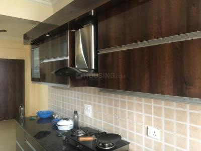 Kitchen Image of 1600 Sq.ft 3 BHK Apartment for buy in Saviour Greenisle, Crossings Republik for 3800000