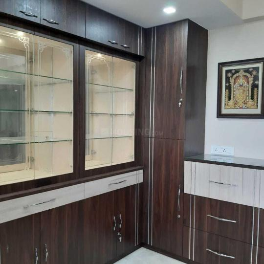Living Room Image of 1750 Sq.ft 3 BHK Apartment for rent in Mukundapur for 50000