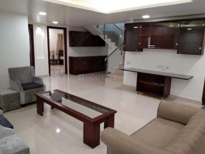 Gallery Cover Image of 3500 Sq.ft 3 BHK Apartment for rent in Banjara Hills for 100000