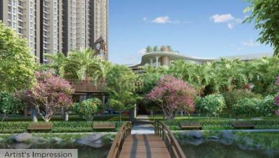 Gallery Cover Image of 825 Sq.ft 2 BHK Apartment for buy in Raymond Ten X Habitat Raymond Realty Tower J, Thane West for 13700000