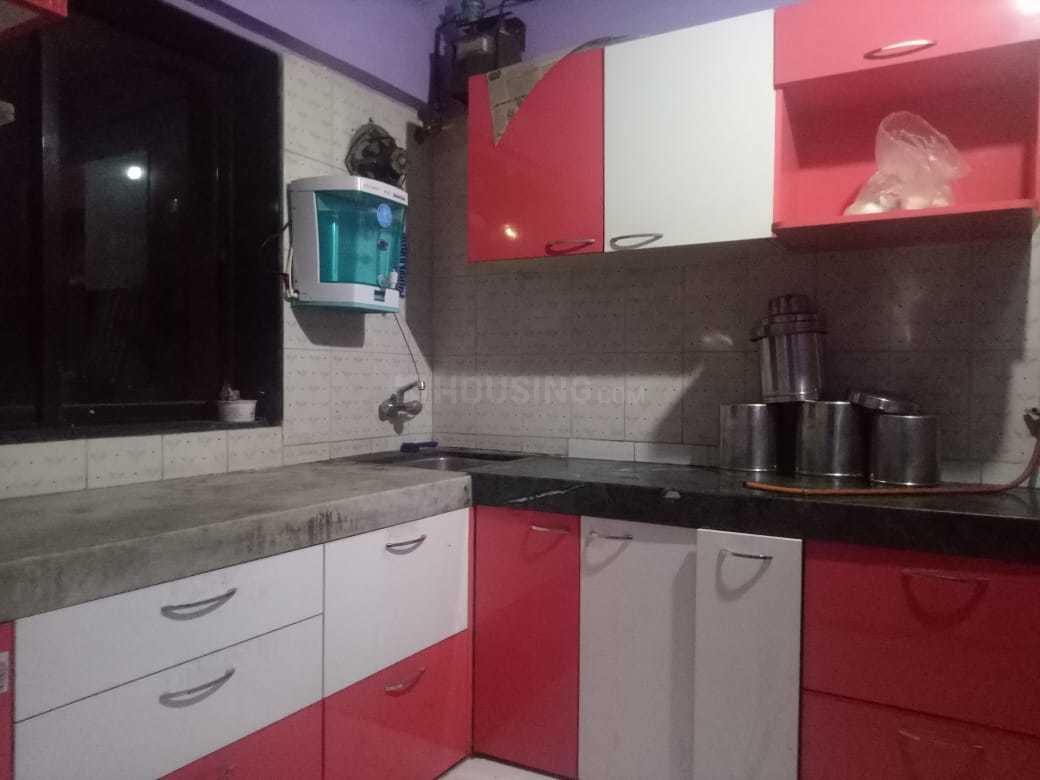 Kitchen Image of 1200 Sq.ft 1 BHK Independent House for buy in Kharghar for 4500000