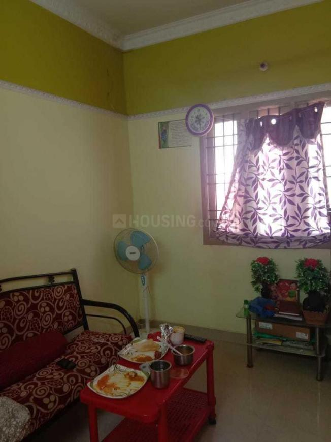 Living Room Image of 586 Sq.ft 1 BHK Independent House for buy in Kolathur for 5000000