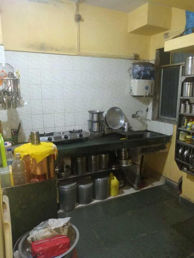 Kitchen Image of 350 Sq.ft 1 RK Apartment for rent in Greater Khanda for 7000
