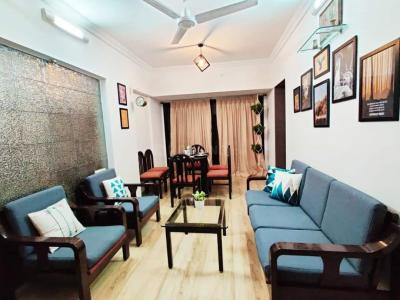Gallery Cover Image of 800 Sq.ft 1 BHK Apartment for rent in Darvesh Belleza, Khar West for 60000