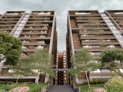 Gallery Cover Image of 2122 Sq.ft 3 BHK Apartment for buy in Shrinivas Luxuria, Bhadaj for 8063600