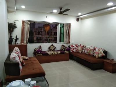 Gallery Cover Image of 650 Sq.ft 1 BHK Apartment for rent in Cosmos Heritage, Thane West for 20000