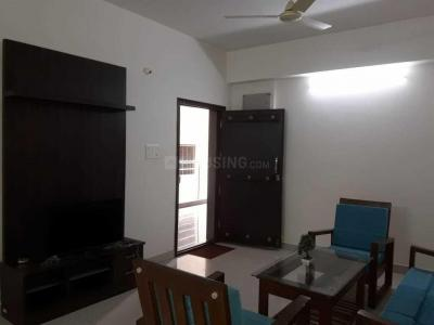 Gallery Cover Image of 1200 Sq.ft 2 BHK Apartment for rent in Jakkur for 25000