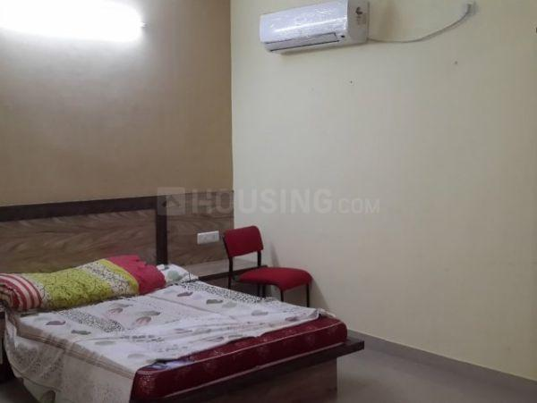 Bedroom Image of 270 Sq.ft 1 RK Independent Floor for rent in Sector 17 for 6999