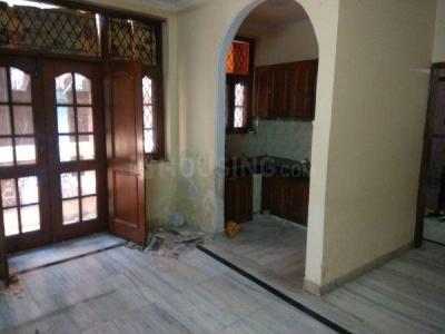 Gallery Cover Image of 700 Sq.ft 1 BHK Independent Floor for rent in Garhi for 13500