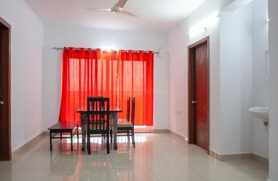 Dining Room Image of Flat No 001, Block H, 3bhk In Accurate Wind Chimes in Bairagiguda