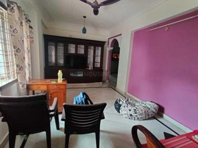 Gallery Cover Image of 1055 Sq.ft 2 BHK Apartment for rent in Pragathi Nagar for 13500