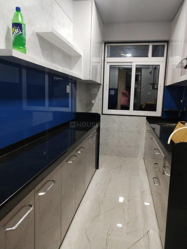 Kitchen Image of 850 Sq.ft 2 BHK Apartment for rent in Bhandup West for 28000