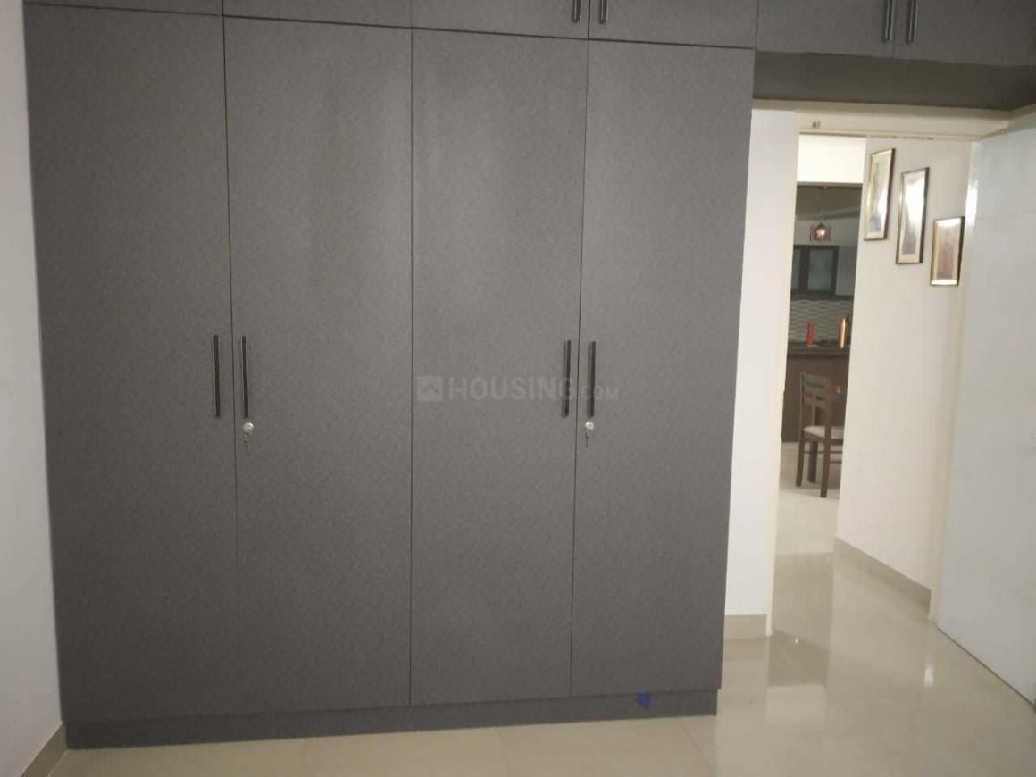 Bedroom Image of 1600 Sq.ft 3 BHK Apartment for rent in Salarpuria Sattva Celesta, Battarahalli for 35000