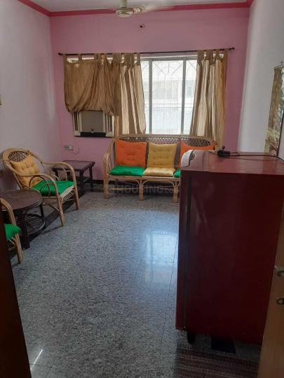 Living Room Image of 600 Sq.ft 1 BHK Apartment for rent in Goregaon East for 25000