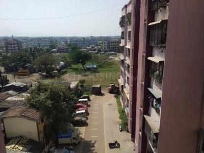 Gallery Cover Image of 545 Sq.ft 1 BHK Apartment for rent in Gajanand Samrudhi, Vitthalwadi for 7500