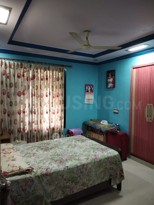 Bedroom Image of 1200 Sq.ft 3 BHK Apartment for rent in Kalyan West for 18000