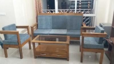 Gallery Cover Image of 1650 Sq.ft 3 BHK Apartment for rent in Unitech Universal Heights, New Town for 30000