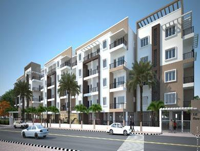 Gallery Cover Image of 715 Sq.ft 1 BHK Apartment for buy in SV Flora, Singasandra for 3600000