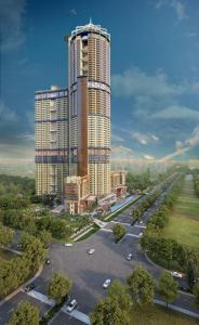Gallery Cover Image of 535 Sq.ft 1 RK Apartment for buy in Supertech North Eye, Sector 74 for 3878750