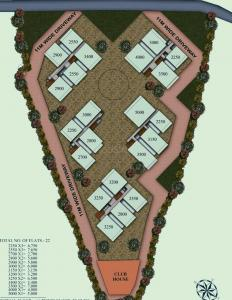 Gallery Cover Image of 2250 Sq.ft 3 BHK Apartment for buy in Kondapur for 12375000