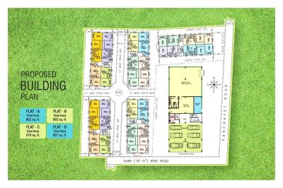 Gallery Cover Image of 800 Sq.ft 2 BHK Apartment for buy in Chandrali Arcade, Madhyamgram for 2012000