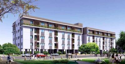 Gallery Cover Image of 622 Sq.ft 2 BHK Apartment for buy in Perungalathur for 3800000