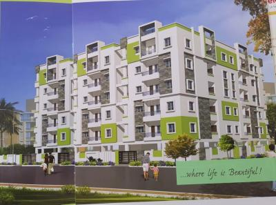 Gallery Cover Image of 1120 Sq.ft 2 BHK Apartment for buy in Pragathi Nagar for 6300000