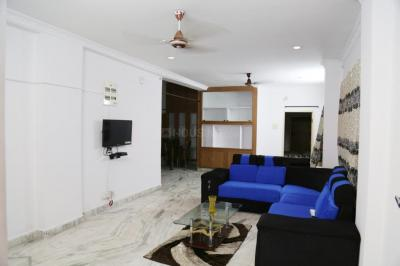 Gallery Cover Image of 1700 Sq.ft 3 BHK Apartment for rent in Banjara Hills for 55000