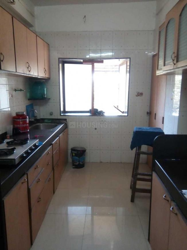 Kitchen Image of 580 Sq.ft 2 BHK Apartment for rent in Vashi for 79000