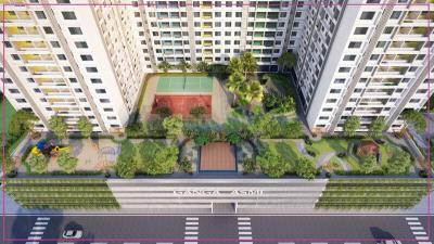 Gallery Cover Image of 950 Sq.ft 2 BHK Apartment for buy in Shanti Mohan Ganga Asmi, Wakad for 6500000